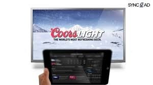 Sync2Ad, Sync, Coors Light, TV ad