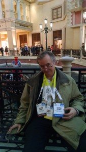 Chris Pfaff at Venetian Hotel Grand Hotel, CES 2016